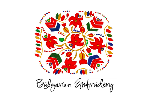 Magnets – Motifs of traditional Bulgarian embroideries